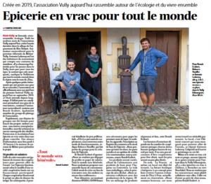 La Vracrie, Epicerie en Vrac, Mont-Vully, La Liberté 6.10.2020