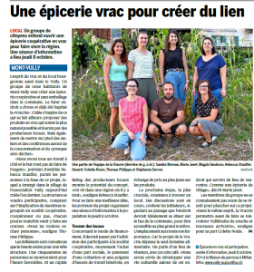 La Vracrie, Epicerie en Vrac, Mont-Vully, La Broye, 24.9.2020