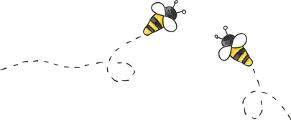 Deux abeilles se rencontrent - La Vracrie - Epicerie en vrac - Coopérative participative au Vully (FR)
